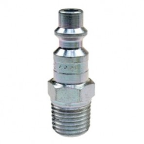 Coilhose® Coilflow™ Manual Industrial Type 15 Hose Connector, 1/4 x 1/4 in, MNPT, 300 psi, Brass