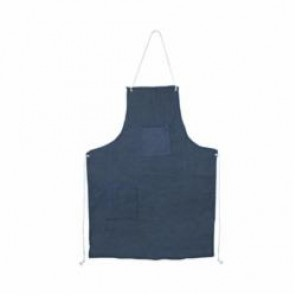 Cordova DA2 Apron With Grommets and Ties, One Size, 36 in L, Denim, Blue