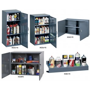 ALL-STEEL UTILITY CABINETS, Lockable Utility Cabinet, No. of Sections: 2, Size W x D x H: 13-3/4 x 12-3/4 x 30""