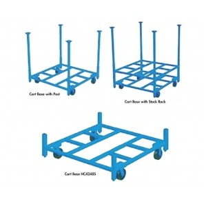 STACKING RACK CARTS, Cap. (lbs.): 2000, Size W x L: 42 x 48""
