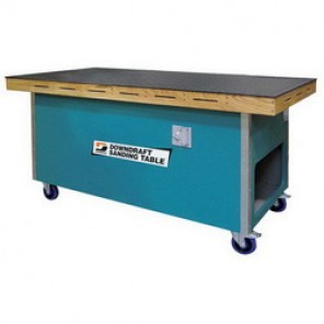 Dynabrade® 64700 Sanding Downdraft Table, 36 in W x 72 in L, 1 hp, 115 VAC, 1 Phase, 60 Hz, 3000 cfm, 1 Micron