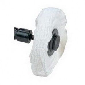 Dynabrade® 90025 Buffing Wheel, 4 in Dia x 1/2 in T