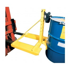 "EAGLE-GRIP™ 1 SERIES ATTACHMENTS, Cap. (lbs.): 750, Size H x L x W: 32 x 10 x 14"", Drums Handled: 1, Mount: Carriage Mount, Belt Cradle: Yes, Non-Sparking Jaws: No"