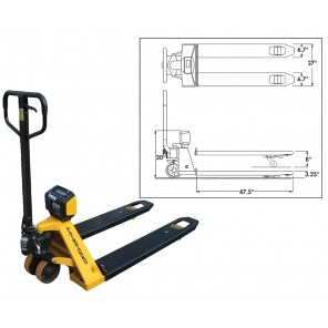 PALLET WEIGH PLUS PALLET JACK SCALE, Battery Module