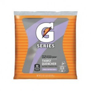 Gatorade® 33673 Sports Drink Mix, 21 oz Pack, Powder, 2.5 gal, Riptide Rush