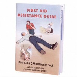 FIRST AID Hart 0594 Guide Booklet