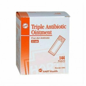 HART TRIPLE ANTIBIOTIC OINTMENT 0.5 gm 144/Box