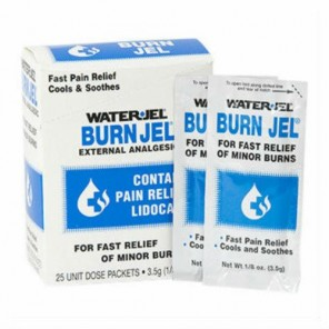 WATER-JEL BURN GEL 25/BX