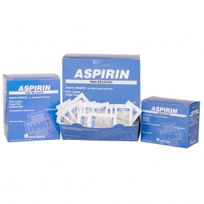 ASPIRIN, 5521, HART, Pain Reliever, Industrial Pack 325 mg, 50/2's per Box