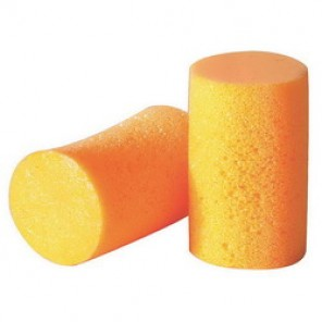 Howard Leight by Honeywell FF-1 Single Use Uncorded Disposable Ear Plug, Cylindrical, 30 dB, Orange Plug