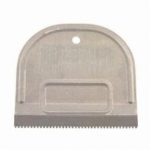 Hyde® 19100 Value Series™ Square Notch Adhesive Spreader, 4-3/4 in W, Cold Rolled Steel Blade