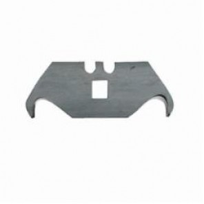 Hyde® 42250 General Purpose Heavy Duty Utility Blade, Hook, Sharp Point, 2-3/8 in L x 3/4 in W, Compatible With Hyde® #42000, 42010, 42050, 42062, 42075, 42080, 42090 and Most Other Heavy Duty Utility Knives, 0.025 in THK, Carbon St