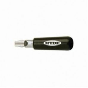 Hyde® 57660 Extension Blade Handle, For Use With 5/16 in and 3/8 in Blade, Hardwood, Natural