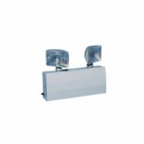 Brady® Big Beam® 80141 Emergency Lighting With Rectangular Lamps, 20 ga Steel Cabinet