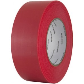 IPG® Red PE77255RP Polyethylene Film Tape Roll, 72mm x 55M