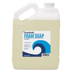 Foaming Hand Soap, Honey Almond Scent, 1 Gallon Bottle, 4/Carton