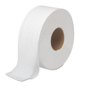 JRT Two-Ply Jumbo Toilet Tissue - White, 12 Rolls per Case