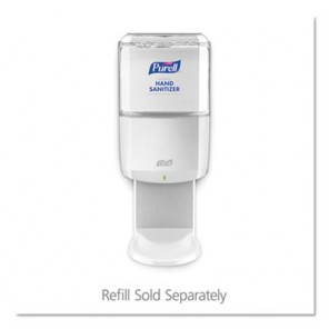 PURELL® 6420-01 ES6 Touch Free Hand Sanitizer Dispenser, 1200 mL, 5.51 in OAL, Wall Mount, ABS