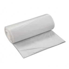 High-Density Can Liner, 38 x 60, 60gal, 22mic, Clear, 150/Carton