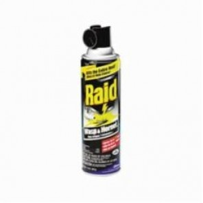 Raid® 668006 Wasp and Hornet Killer, 14 oz Aerosol, Aerosol Can, Clear, Characteristic