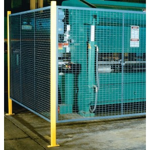 WIRE MESH GUARDING SYSTEM, Panels, Size W x H: 10 x 5'