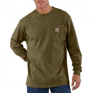 Men's Carhartt Workwear Pocket Long-Sleeve T-Shirt