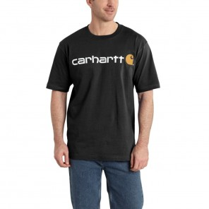 Men's Carhartt Signature Logo Short-Sleeve T-Shirt