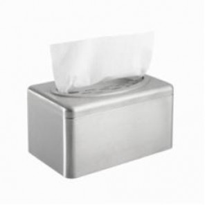 Kimberly Clark; 09924 Box Towel Cover, 6.1 in OAL x 10.4 in OAW x 5.4 in OAH, Stainless Steel, Stainless Steel