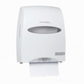 Kimberly Clark; 09995 Hard Roll Towel Dispenser, 16.13 in OAL x 12.63 in OAW x 10.2 in OAH, Wall Mount, ABS Plastic