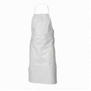 Kimberly Clark; 69350 General Purpose Non-Sterile Apron, Universal, White, Plastic Film