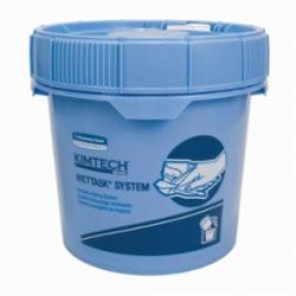 Kimtech Prep; 09361 Wiper Dispenser, 3.5 gal, 12.3 in L x 12.3 in W x 11 in H, Blue