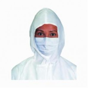 Kimtech Pure; 62470 Pleat Style Sterile Face Mask, Regular, Polyethylene Film, White