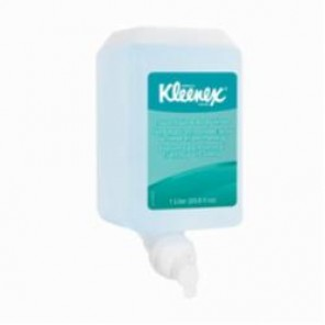 Kleenex® 91553 Foam Hair and Body Wash, 1 L, Cassette Packing, Liquid, Pleasant, Light Blue
