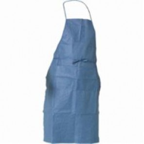KleenGuard; 36260 Breathable Protective Apron With Pockets, Universal, 40 in L, Blue