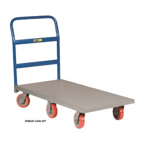 6-WHEEL PLATFORM TRUCKS, Deck Size W x L: 30 x 60""