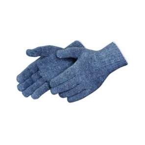 Liberty Glove 4517TG Medium Weight Reversible String Knit Gloves, Medium, 7 gauge 60% Cotton/40% Polyester Palm, Gray