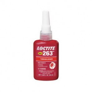 Loctite® 1330585 High Strength Low Viscosity Oil Tolerant Thread Sealant, 50 ml Bottle, Liquid, Red, 1.08