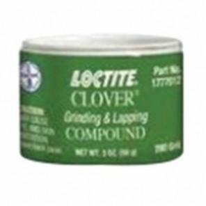 Loctite® Clover® 1777012 Lapping and Grinding Compound, 2 oz Jar, Liquid/Paste, Gray