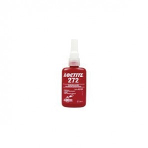 Loctite® 27285 1-Part High Strength Threadlocker, 1 L Bottle, Liquid, Red, 1.11