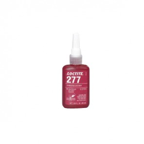 Loctite® 27743 1-Part High Strength Threadlocker, 1 L Bottle, Liquid, Red, 1.1