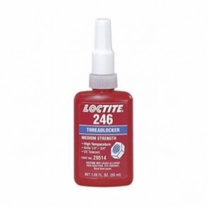 Loctite® 29514 1-Part Medium Strength Threadlocker, 50 mL Bottle, Liquid, Blue, 1.1