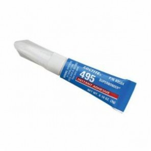 Loctite® 49504 1-Part General Purpose Low Viscosity Instant Adhesive, 3 g Tube, Liquid, Colorless to Light Yellow, 1.1