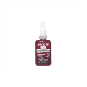 Loctite® 60931 1-Part High Strength Retaining Compound, 50 mL Bottle, Liquid, Green, 1.1
