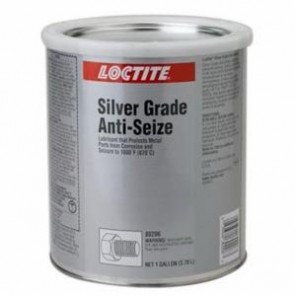 Loctite® 80206 1-Part Heavy Duty Anti-Seize Lubricant, 1 gal Can, Paste, Silver, 1.25
