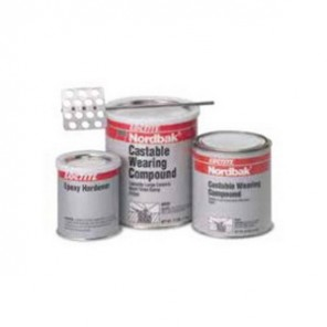 Loctite® Nordbak® 98992 2-Part Castable Wearing Compound, 25 lb, Part A: Paste, Part B: Liquid, 277 cu-in, 6 hr Curing