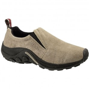 Mens Merrell Jungle Moc Shoe: Taupe