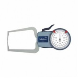 Mitutoyo Series 209 External Inch Dial Caliper Gage 0, 0 to 80 in, Graduation 0.0005 in