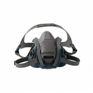 3M™ 6503QL Probed Reusable Half Facepiece Respirator With Cool Flow™ Exhalation Valve, L, Polyester/Spandex®