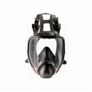 3M™ 051138-54145 Reusable Full Face Respirator With Cool Flow™ Valve, S, Thermoplastic Elastomeric Headstrap