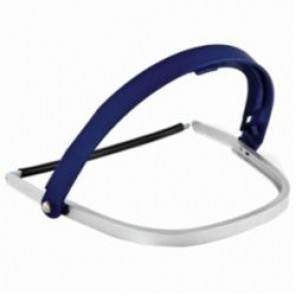 3M™ 82520 Universal Faceshield Holder, For Use With 3M™ Faceshields, H24M Hard Hat, Thermoplastic, Blue